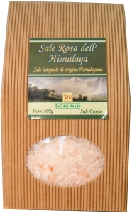 Himalayan pink salt, hailing from Pakistan. A natural whole salt rich in minerals